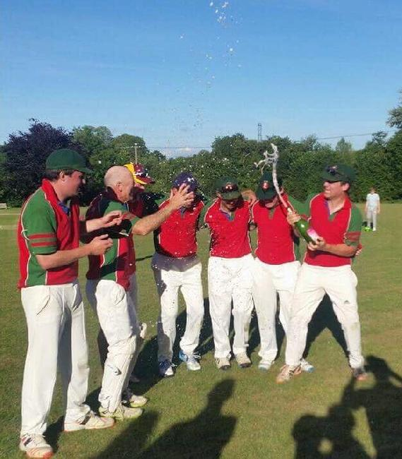 EMCC winning side at the annual sixes 2017