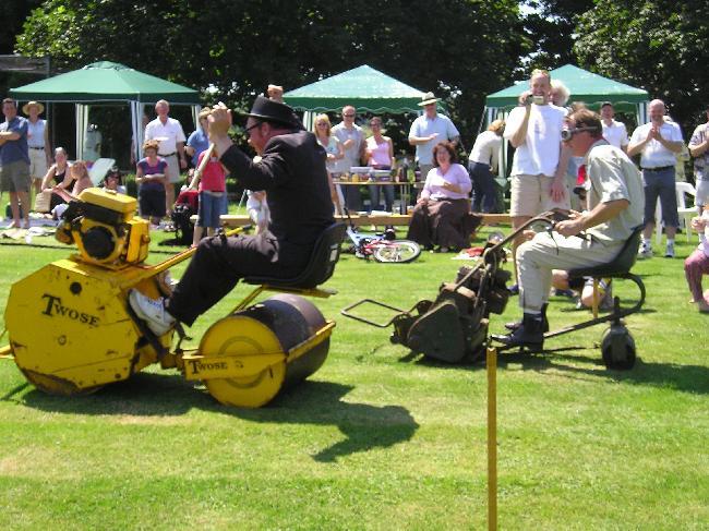 Roller v Mower (the Mower cheated ...)