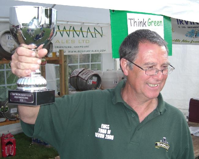 Melvyn celebrating successful spectating