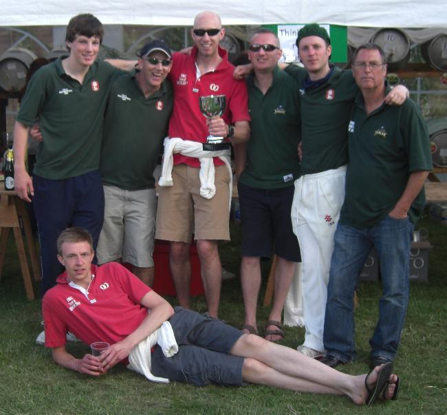 The victorious East Meon sixes squad