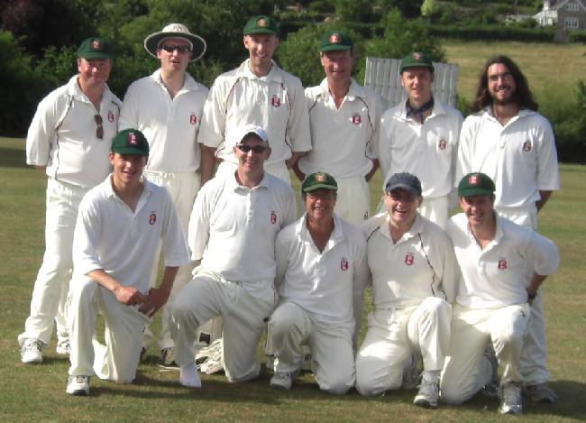 Winning East Meon team v Court House XI 11th July